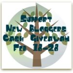 Support New Blogger Cash Giveaway