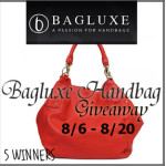 Bloggers Wanted! Bagluxe Handbag Giveaway Event