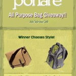Enter : Portare All Purpose Bag Giveaway