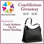Blogger Sign Up : Coachlicious Giveaway