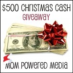 Enter : $500 Christmas Cash Giveaway