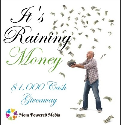 Free Blogger Event : It's Raining Money~$1000 Cash Giveaway
