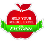 Help Your School Excel with Excedrin-$10,000 Sweepstakes