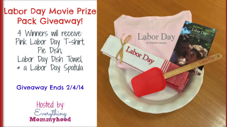 Enter : Labor Day Movie Prize Pack Giveaway