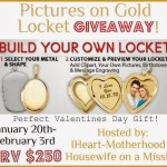 Enter : Pictures on Gold Giveaway