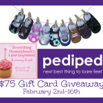 Enter : $75 Gift Card to Pediped Footwear Giveaway