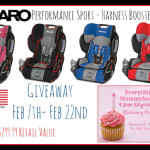 Enter : Recaro Performance Harness Booster Car Seat Giveaway