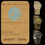 Enter : JORD Wooden Fieldcrest Watch Giveaway