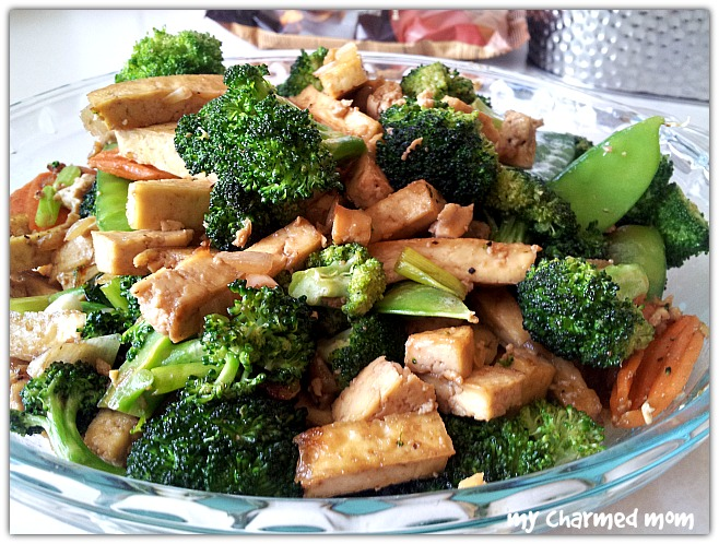 stir fried tofu with vegetables fresh and easy