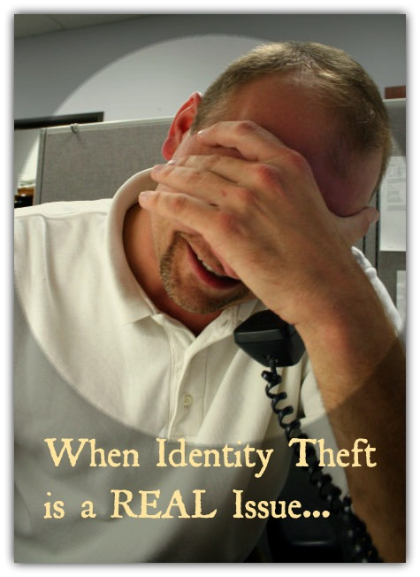 stressed with identity theft