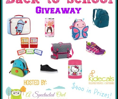 Enter : $400 Back to School Prize Pack Giveaway