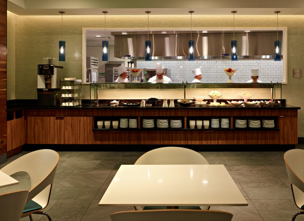 The Centurion Lounge Kitchen