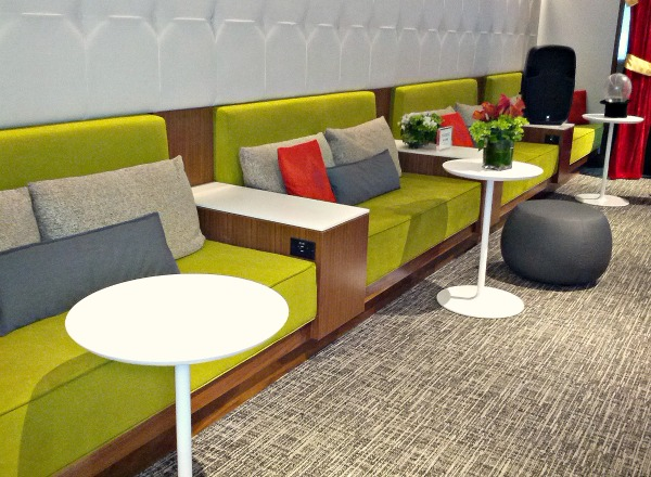 The Centurion Lounge Seats