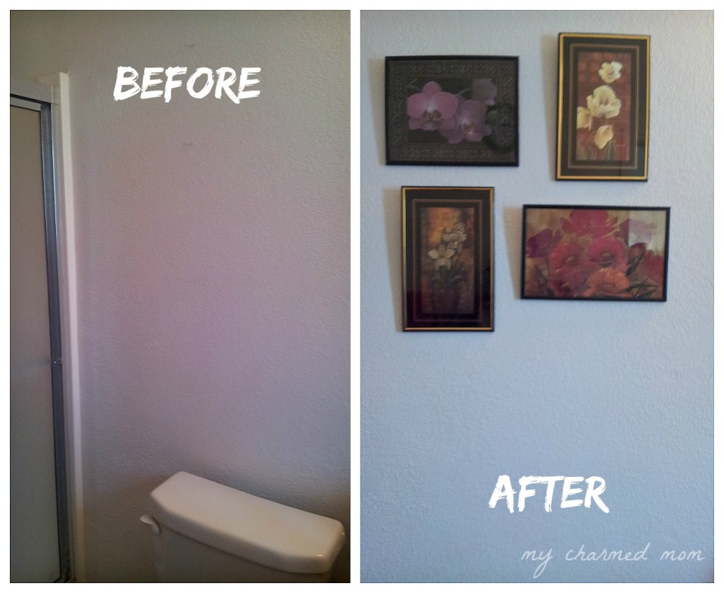 add wall decor to a plain wall