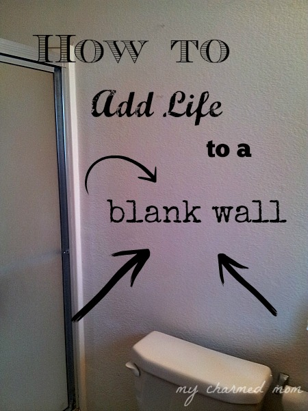 how to add life to a blank wall