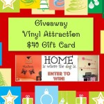 Enter : Vinyl Attractions Holiday Gift Card Giveaway