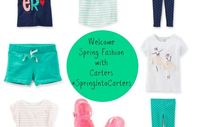 Welcome Spring Fashion with Carters #SpringIntoCarters