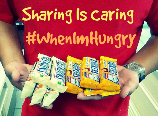 Sharing Is Caring #WhenImHungry
