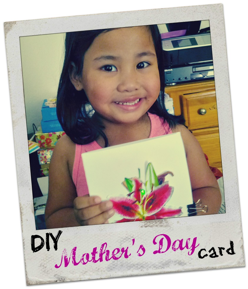 DIY Mother's Day Card and Galileo Camp