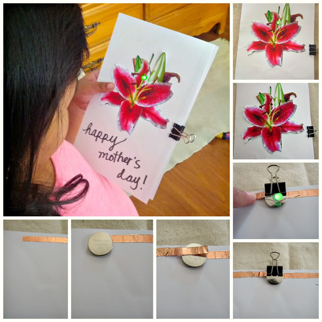 Galileo Camp and DIY Mother's Day Card