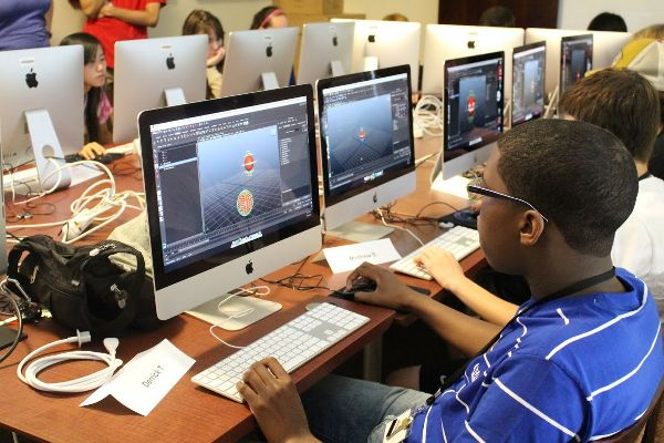 students use personal workstations