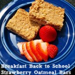 Breakfast Back to School|Strawberry Oatmeal Bars #QuakerTime