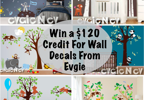 Enter : $200 Gift Card Evgie Wall Decals Giveaway