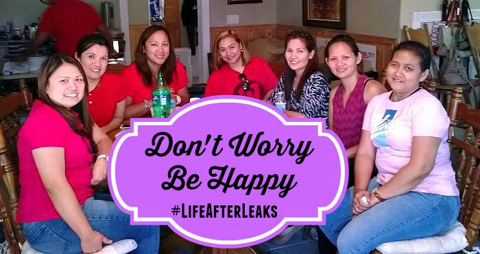 Don't Worry Be Happy #LifeAfterLeaks