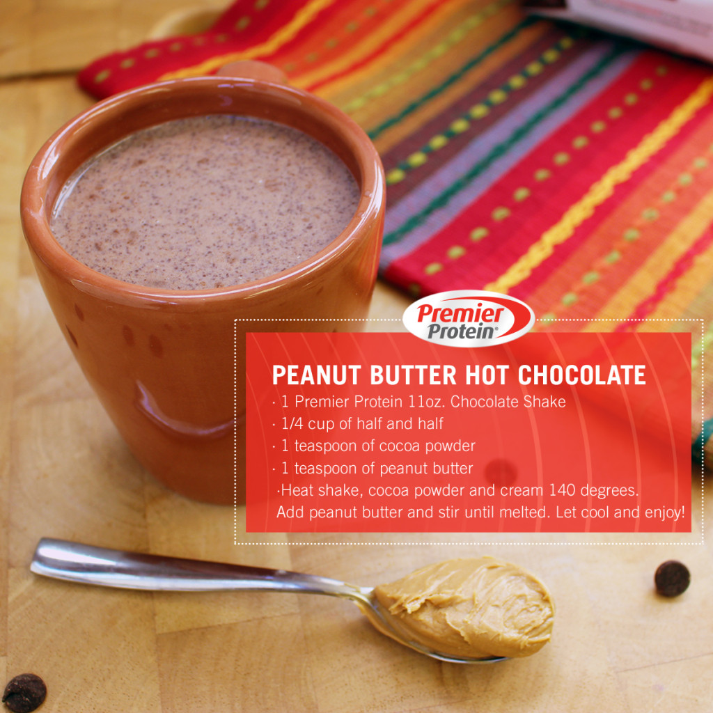 PB Hot Chocolate with Recipe