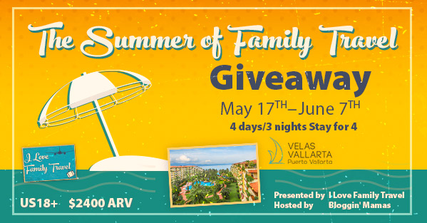 The Summer of Family Travel Giveaway #FamilyTravelChat